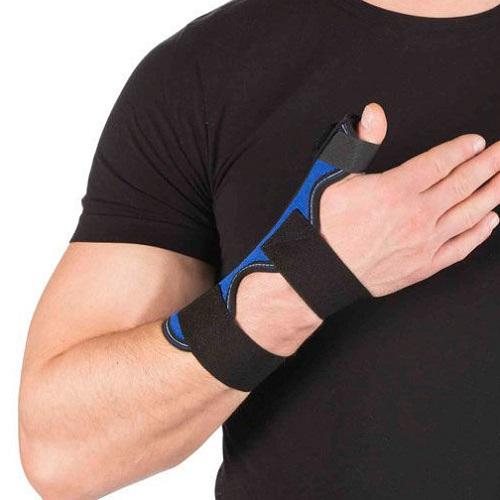 повязка на лучезапястный сустав и 1 палец